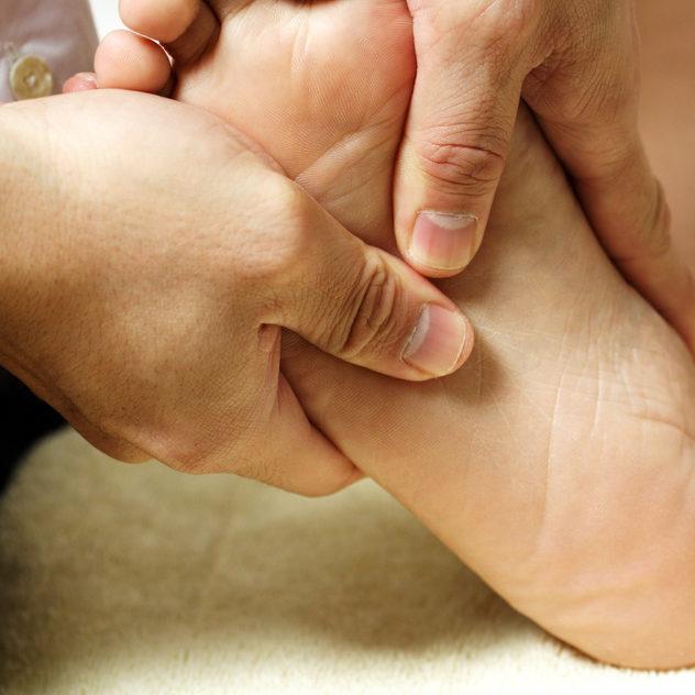 reflexologia masaje de los pies